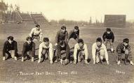 Football team, Tulalip Indian School, 1911
