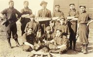 Baseball team, Tulalip Indian School, ca. 1912