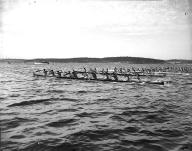 International Indian War Canoe Race, Coupeville, August 10, 1936