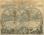 New Map of the Whole World with the Trade winds:  According to ye latest and most Exact...
