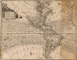 New and Accurate Map of America Drawn from the most approved modern Maps and Charts and adjusted...