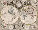 New Map Of The World From the Latest Observations Revis'd by I. Senex.  Most Humbly Incribd to his...