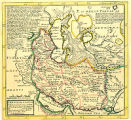 Persia, The Caspian Sea Done by ye Czar, and Part of Independent Tartary