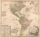 Map of the Whole Continent of America.  Particularly Shewing the British Empire in the Northern...