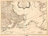 Bowles's New Pocket map of the Discoveries made by the Russians on the NorthWest coast of America...