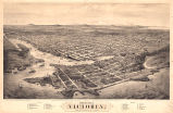 Bird's-eye View of Victoria, Vancouver Island, B.C. 1878