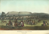 Encampment of Piekann Indians, near Fort McKenzie