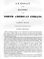 An Essay on the History of the North American Indians, Part 2