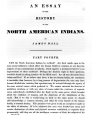 An Essay on the History of the North American Indians, Part 4
