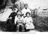 Children, probably on the Makah Indian Reservation