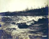 Whitehorse Rapids on the Yukon River, Yukon Territory, 1899.