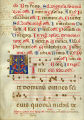 Gradual leaf: Proper of the Saints for feasts of Saints Dionysius, Luke, Simon & Jude, and the...
