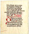 Missal leaf, 15th c: Mass for the Dead (UW Ms 98 verso)