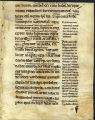 Bible bifolium with gloss, 13th century: Ecclesiasticus 38:23-29. (Beals 16, Folio 2, recto)