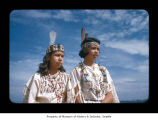 Jean Thomas and Celia Ides at Makah Indian Reservation