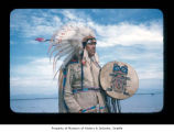 Charlie Swan at Makah Indian Reservation