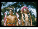 John and Harry McCarty at Makah Indian Reservation
