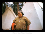 Pauline Irving at Makah Indian Reservation
