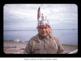 Ralph LaChester at Makah Indian Reservation