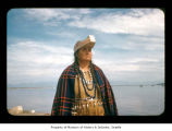 Nora Barker at Makah Indian Reservation