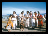 Women and children at Makah Indian Reservation
