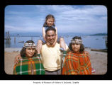 Merle Kay, Eustace, Terry Elaine and Audrey Artis Markishtum at Makah Indian Reservation
