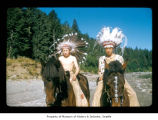 Arnold Hunter and Conrad Johnson at Makah Indian Reservation