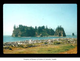 James Island seen from First Beach, Quileute Indian Reservation