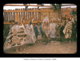 Dancers during an event at Makah Indian Reservation