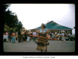 Dancer during an event at Makah Indian Reservation
