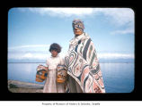 Charlie Swan and Paulette Daniels at Makah Indian Reservation