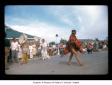 Performers during an event at Makah Indian Reservation