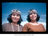 Merle Kay and Juanita Markishtum at Makah Indian Reservation
