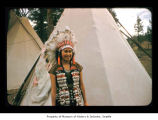 Mary Green at Makah Indian Reservation