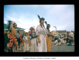 June and Mrs. Millholland during an event at Makah Indian Reservation