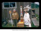 Emma Jimmicum and Ralph LaChester at Makah Indian Reservation