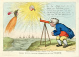 John Bull Making Observations on the Comet