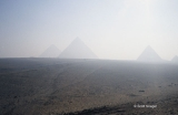 Pyramids of Giza from the West