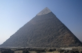 Pyramid of Khafre (Chefren) from the North