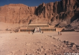 Temple of Hatshepsut at Deir el- Bahri from a distance