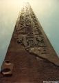 Obelisk outside of the Temple of Luxor