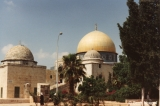 Dome of the Rock with outbuilding