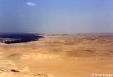 Looking South toward the Nile, from atop Pyramid of Menkaure