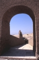 Looking Down and East Through Mud Brick Arch