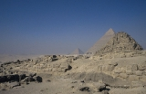 Pyramids of Menkaure, Khafre (Chefren), and Khufu's Queens