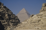 Pyramid of Khafre with Khufu's Queens