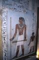 Tomb Painting of Man and Heiroglyphs