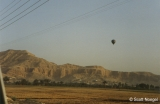 Hot air balloon near Luxor, Egypt