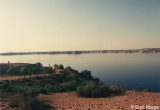 Lake Nasser, view from Abu Sunbul