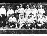 Baseball team, possibly from Neah Bay
